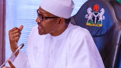 "Photo of ""I'm being called Baba go slow but I've done more with fewer resources"" Buhari"