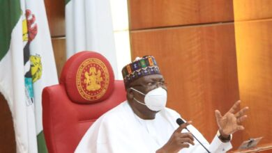 "Photo of ""We will no longer tolerate disrespect from Buhari's appointees"" says Senate President"