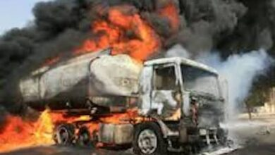 Photo of Just In: Lives lost, Properties worth Millions in Flames as Petrol Tanker Explodes in Jebba